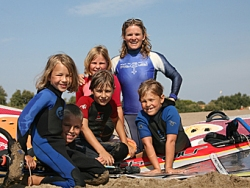 Kid's Windsurf Kitesurf SUP Camps Spain